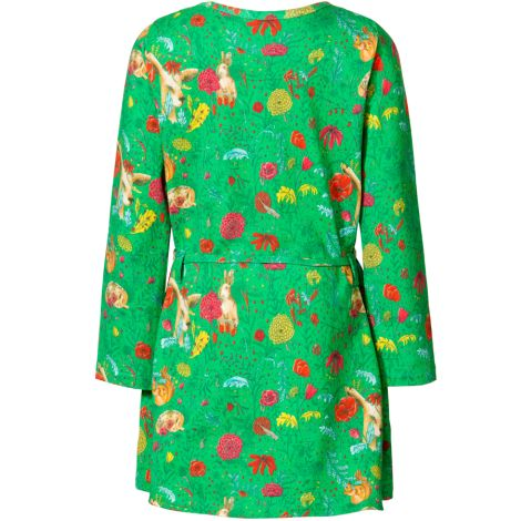 Room Seven Jersey-Kleid Tollys The Forest Light Green 140