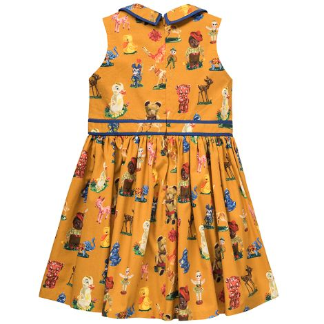 Room Seven Kleid Delta Toys Brown