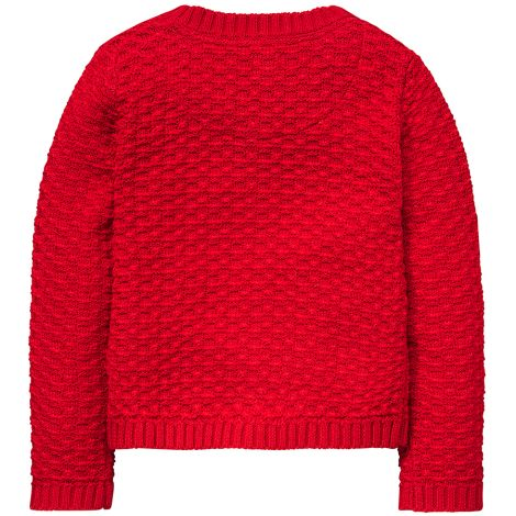 Room Seven Cardigan Koala Stitch Red