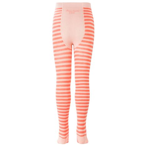 Room Seven Strumpfhose Masha Stripes Pink/Orange