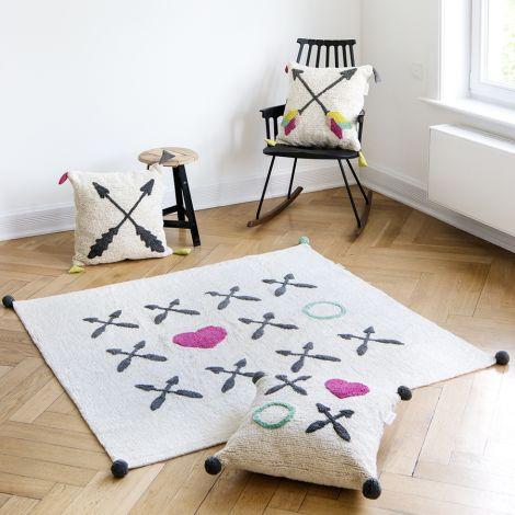 Minividuals Teppich XOXO Beige