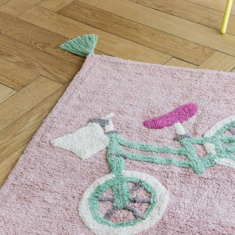 Minividuals Teppich Biker