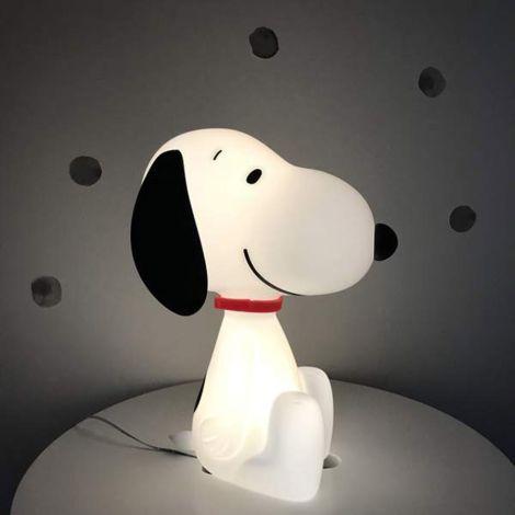 Charlie & Friends Nachtlicht Snoopy LED mit Dimm- und Schlaffunktion