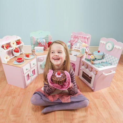 Le Toy Van Kinderküche Backofen und Herd Rosa