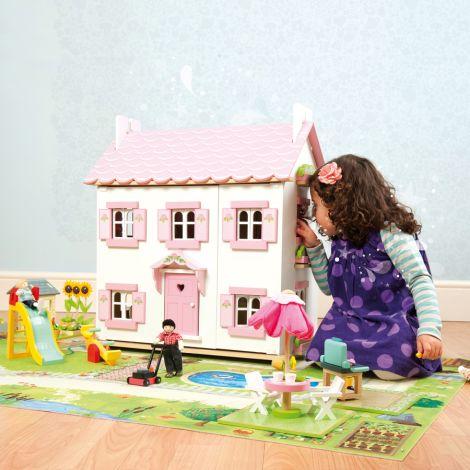 Le Toy Van Puppenhaus Spielplatz Set