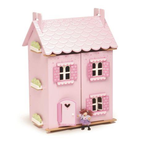 Le Toy Van Puppenhaus Mein erstes Traumhaus inkl. Möbel