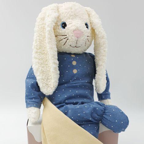 Hugzzeee Kuscheltier Friends Rabbit Blue