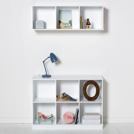 Oliver Furniture Wood Stand-Regal 3 x 2 Horizontal mit Sockel