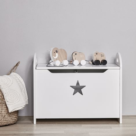 Kids Concept Truhe Star Grau