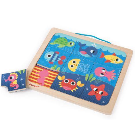 Janod Magnet-Puzzle Fisch