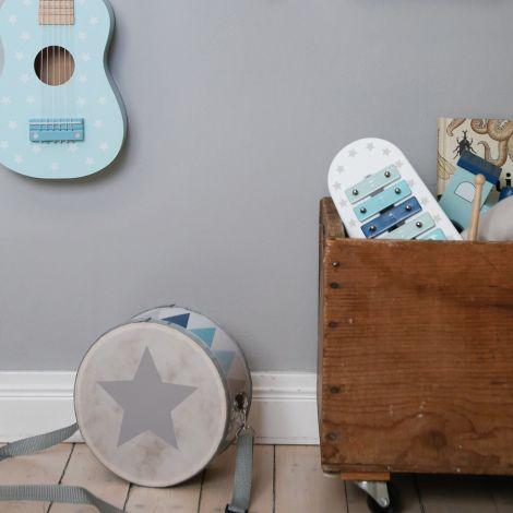 JaBaDaBaDo Gitarre Blau Sterne