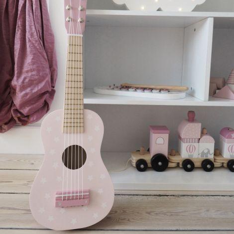 JaBaDaBaDo Gitarre Pink Sterne