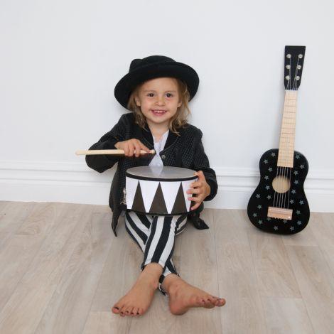 JaBaDaBaDo Gitarre Schwarz