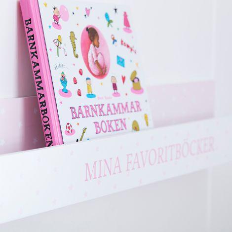 Kids Concept Bücherleiste Rosa •