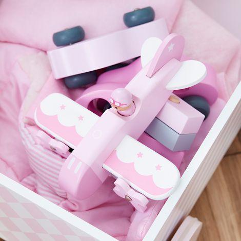 Kids Concept Spielwagen Rosa •