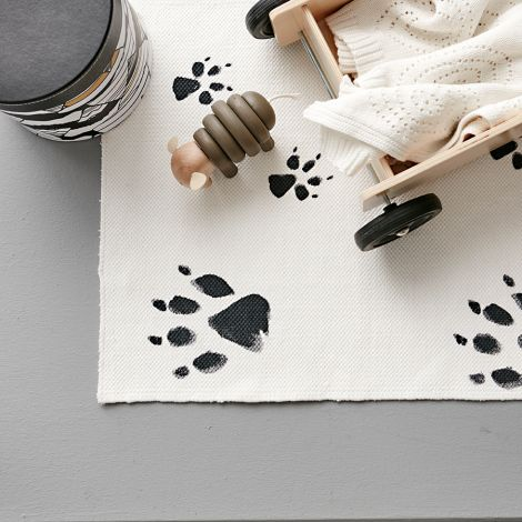 Kids Concept Teppich NEO Schwarz