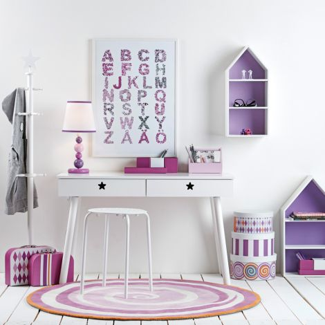 Kids Concept Pappboxen Rund 3-set Fairy Rosa
