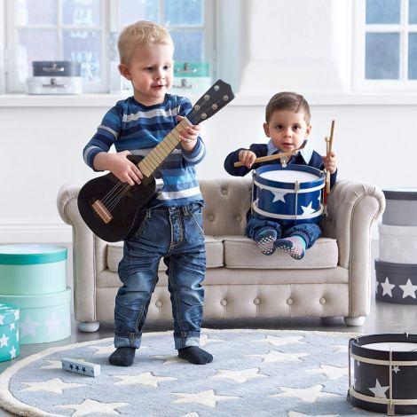 Kids Concept Teppich Star Grau