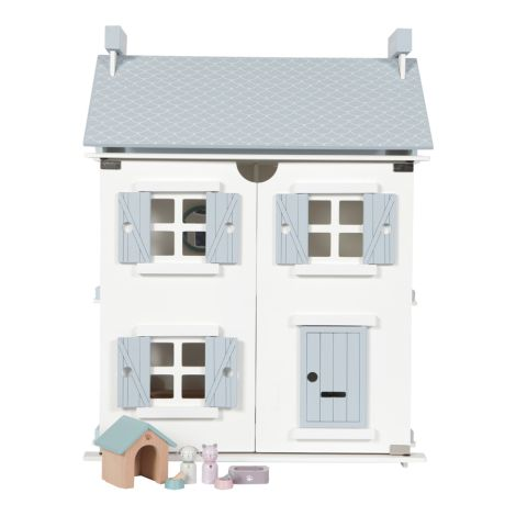 Little Dutch Puppenhaus-Spielset Haustiere 8-teilig