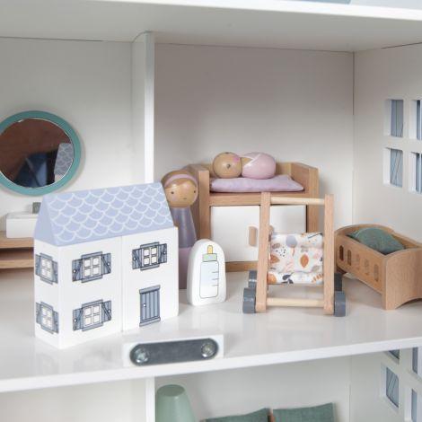 Little Dutch Puppenhaus-Spielset Babyzimmer 11-teilig