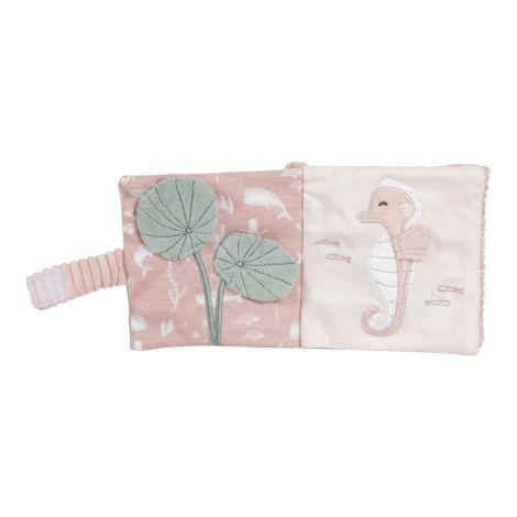 Little Dutch Buggy-Fühlbuch Ocean Pink