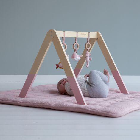 Little Dutch Spieltrapez aus Holz Ocean Pink