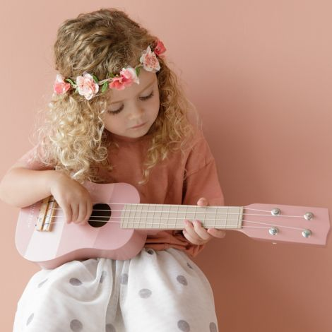 Little Dutch Gitarre Pink