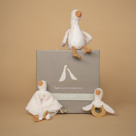 Little Dutch Geschenkset Little Goose 3-teilig in Geschenkbox