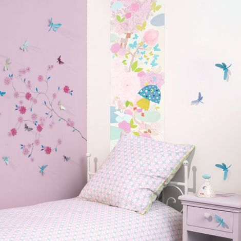 Djeco Mobile Glitter Butterflies Lightweight