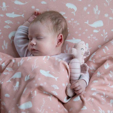 Little Dutch Bettbezug Ocean Pink 100 x 140