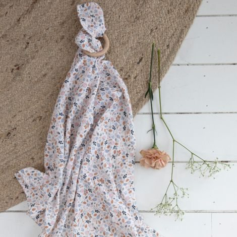Little Dutch Tuch Swaddle 120 x 120 Spring Flowers