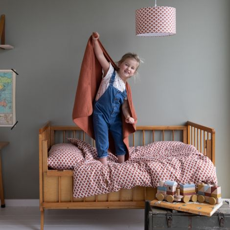 Little Dutch Wiegedecke Pure & Soft Pure Rust