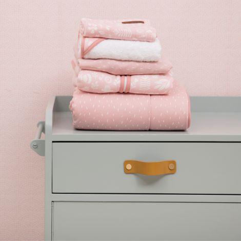 Little Dutch Spannbetttuch Pink Sprinkles - In verschiedenen Größen 40 x 80 cm