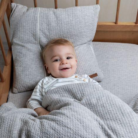 Little Dutch Bettbezug Pure Grey 100x140
