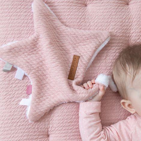 Little Dutch Kuscheltuch Stern Pure Pink