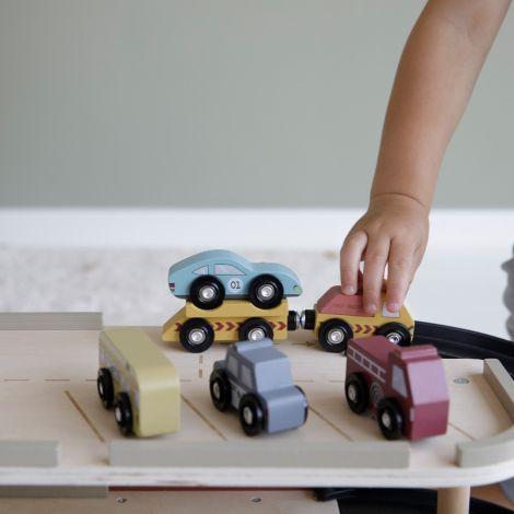 Little Dutch Holzeisenbahn Erweiterung Fahrzeug-Set