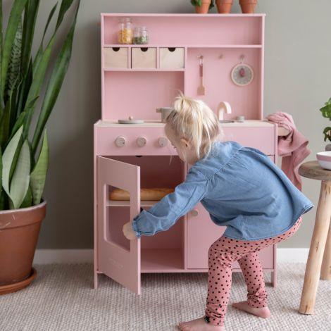 Little Dutch Holz-Küche Pink inkl. Zubehör