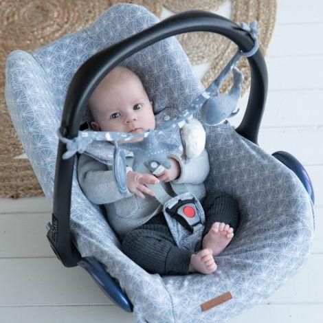 Little Dutch Babyschalen-Bezug Ocean White