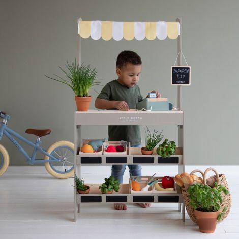 Little Dutch Marktstand inkl. Zubehör