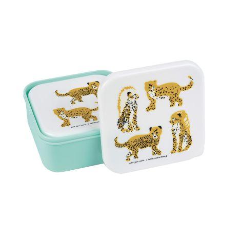 Petit Jour Paris Lunchbox Brotdose Jaguar Set