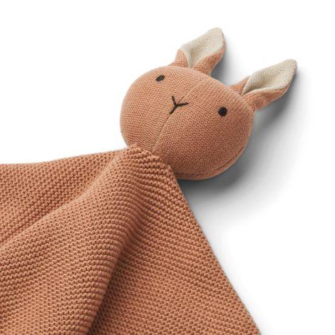 LIEWOOD Schmusetuch gestickt Milo Rabbit Tuscany Rose