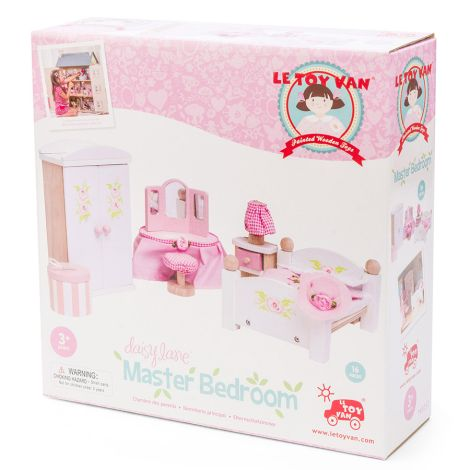 Le Toy Van Puppenhaus Daisylane Schlafzimmer