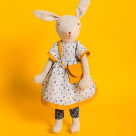 Moulin Roty Plüschtier Kaninchen 40 cm