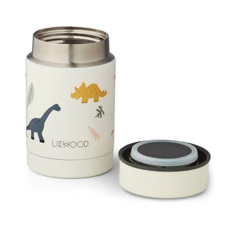 LIEWOOD Thermo-Behälter Nadja Dino Mix