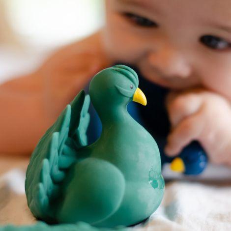 Natruba Badespielzeug Peacock Green