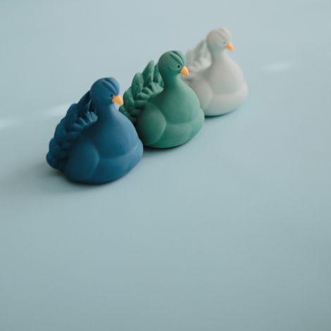 Natruba Badespielzeug Peacock Blue