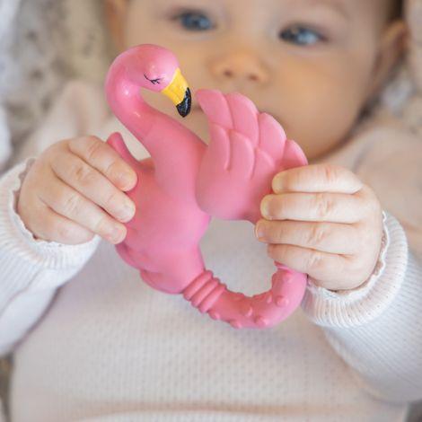 Natruba Beißring Flamingo