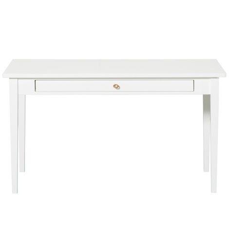 Oliver Furniture Junior Schreibtisch mit Lederband Weiß H64cm