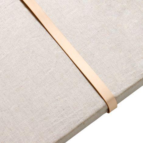 Oliver Furniture Lederbänder für Sitzkissen Wood Standregale 2er Set