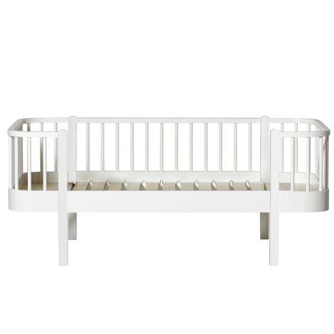 Oliver Furniture Bettsofa Junior Wood Weiß